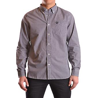 Fred Perry sort bomuld Shirt