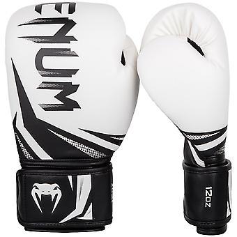 VENUM Challenger 3.0 krog & Loop boksning uddannelse handsker - hvid/sort