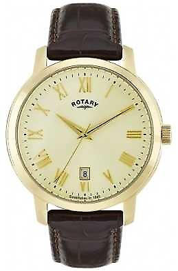 Rotary Mens Sloane Gold Tone GS02462/03 Watch