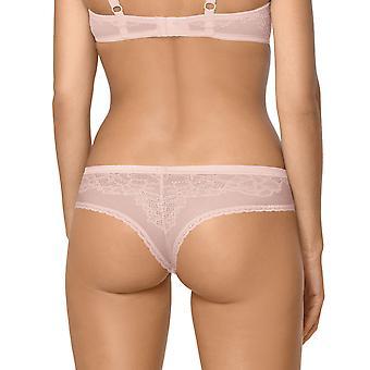 Nipplex Women's Rafaela Cappucino Beige Lace Knickers Panty Full Brazilian Brief
