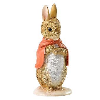Beatrix Potter Flopsy conejo miniatura estatuilla
