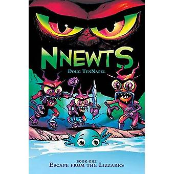 Escape from the Lizzarks by Doug TenNapel - 9780545676465 Book
