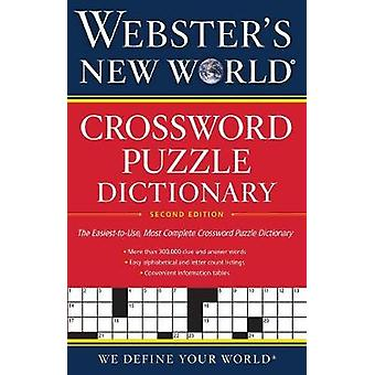 Webster's New World(r) Crossword Puzzle Dictionary - 2nd Ed. by Jane