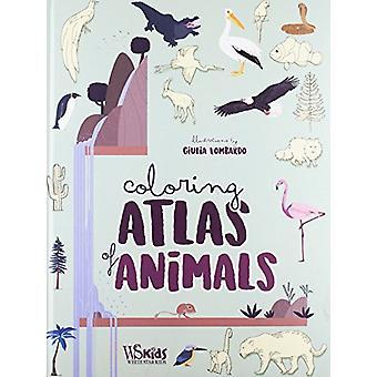 Animal Coloring Atlas by Giulia Lombardo - 9788854411456 Book