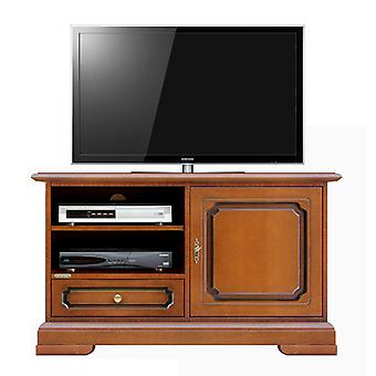 Classic MIDI TV holder with door and drawer