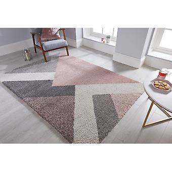 Dakari Zula Multi Rosa Rechteck Teppiche moderne Teppiche