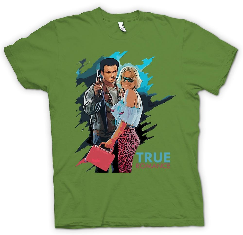 Mens T-shirt - True Romance - Clarence And Alabama