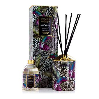 Ashleigh & Burwood Wild Things Luxus duftenden Reed Diffusor Humming Leopard - schwarze Himbeere