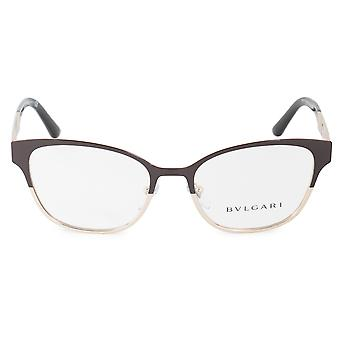 Bvlgari BV2201B 2044 53 Divas' Dream Cat Eye Bi Color Eyeglasses Frames