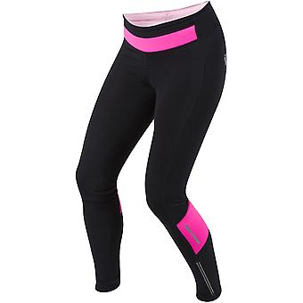 Pearl Izumi Black-Screaming Pink Pursuit Thermal Womens Cycling Pants