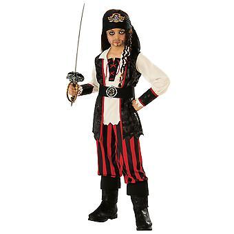 Pirate Captain Hook Jack Sparrow Caraïbes Buccaneer Book Week Garçons Costume
