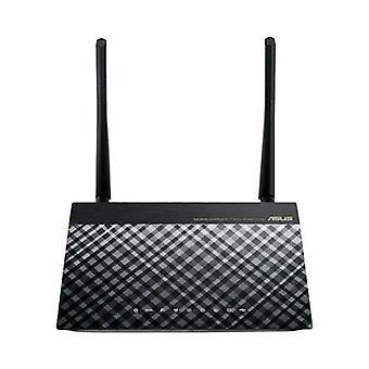 ASUS DSL-n14u modem/roouter ADSL 4 Porte LAN RJ-45 10/100Mbps draadloos 300Mbps colore Nero