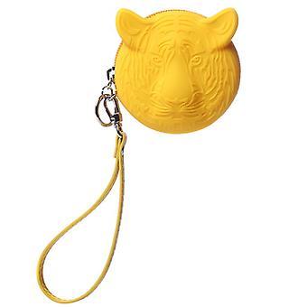 Coin Purse in tijger geel
