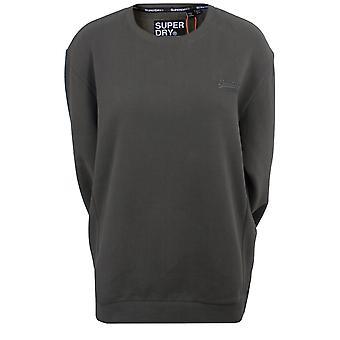 Superdry ol elite women's slate sweatshirt