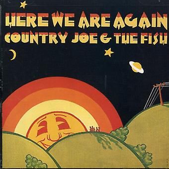 Country Joe & the Fish - Here We Are Again [CD] USA import