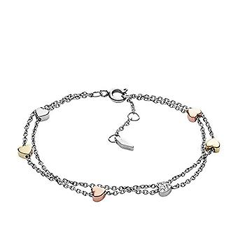 Fossil Women's bracelet in stainless steel with Cubic Zirconia JF02854998