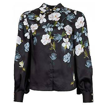 Ted Baker Ted Baker Priyya Opal Print Button Up Blouse