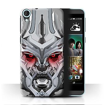 STUFF4 Case/Cover for HTC Desire 820q Dual/Mega-Bot Red/Robots