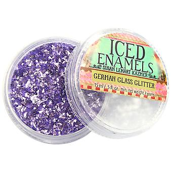 Art Mechanique Inclusions German Glass Glitter .5oz-Amethyst SLKGG-12782