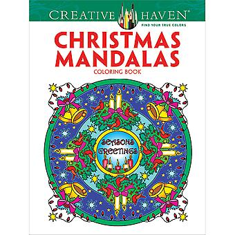 Dover Publications-Creative Haven Christmas Mandalas DOV-91882