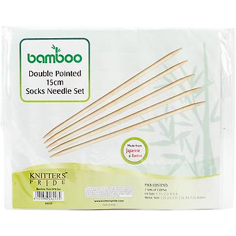 Bamboo Double Pointed Needles Set 6
