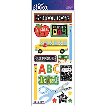 Sticko Stickers School E5260129