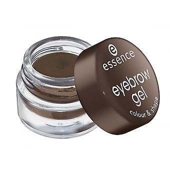 Essence Brow Gel With Color Brown 01 (Woman , Makeup , Eyes , Eyebrow)