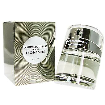 Unpredictable Pour Homme by Glenn Perri 3.4 oz EDT Spray