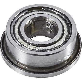 Reely Deep groove ball bearing Chrome steel Inside diameter: 3 mm Outside diameter: 7 mm Rotational speed (max.): 7100