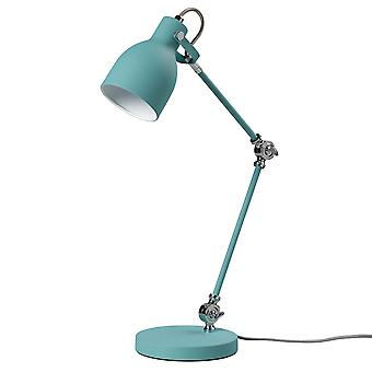 Wild and Wolf Light Blue Modern Task Lamp