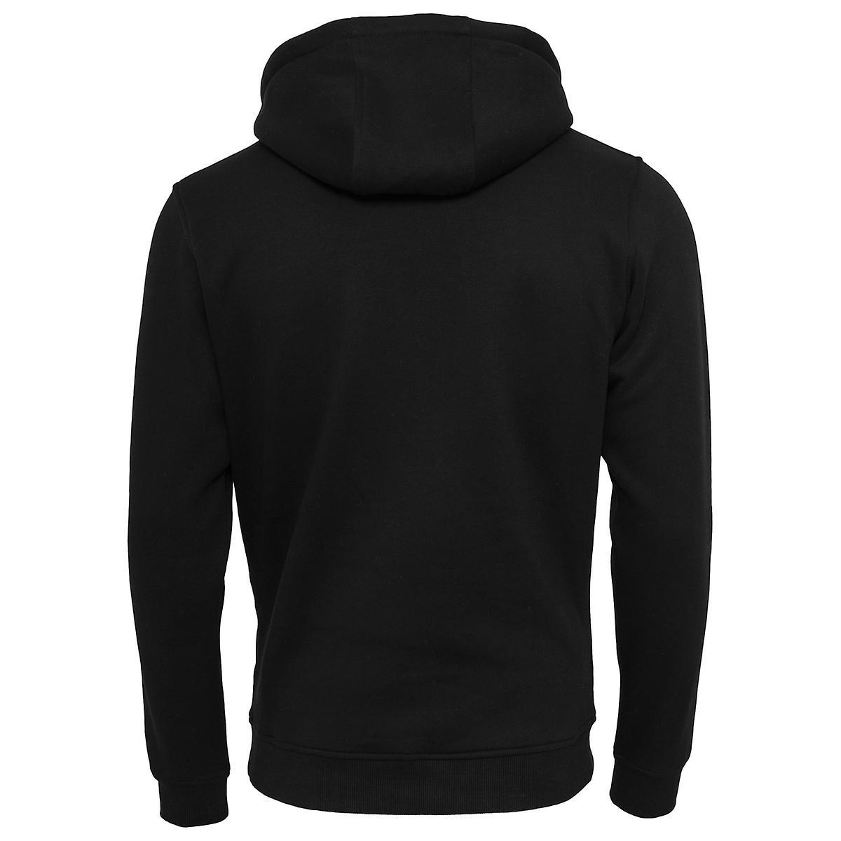 Mister camiseta Hoody - skull químico negro