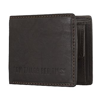 TOM TAILOR men's purse wallet purse Brown 4807
