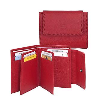 Dr Amsterdam Credit card pouch Mint Red