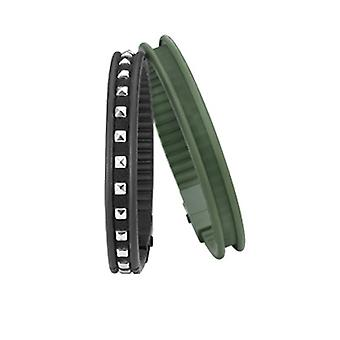 Hip Hop Damen Armband Silikon Rail HJ0061 peaceful military