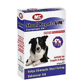 M & c hund & hvalp taburet frastøde-um 30 tabletter