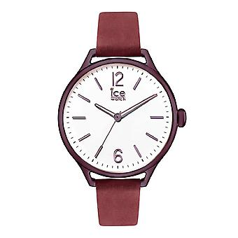 Temps de glace Ice-Watch rouge pourpre moyen (013062)