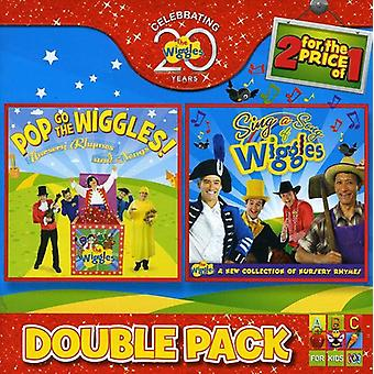 Wiggles - Pop Go/Sing a Song [CD] USA import