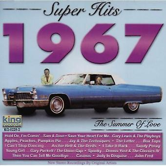 Super Hits 1967-Summer of Love - Super Hits 1967-Sommer der Liebe [CD] USA import