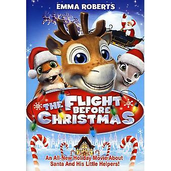 Flight Before Christmas [DVD] USA import