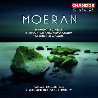 E.J. Moeran - Moeran: Symfoni i G-moll; Rapsodi för Piano och orkester. Ouvertyr för en Masque [CD] USA import
