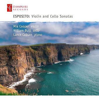 Esposito - sonater for Violin & Cello [CD] USA import