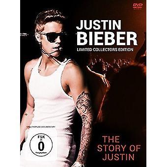 Justin Bieber - historie af Justin [DVD] USA import