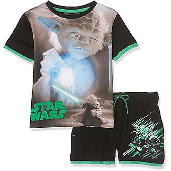 Boys Star Wars Short Sleeve T-Shirt & Shorts Set