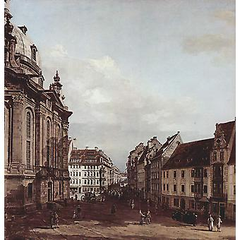 Canaletto - straten Poster Print Giclee