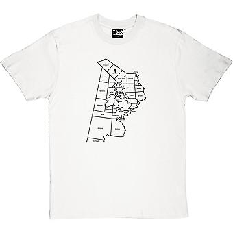 Shipping Forecast Areas Men's T-Shirt