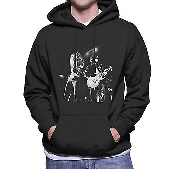 LED Zeppelin Jimmy Page Robert Plant Cardiff Capitol Theater 1972 Herren Sweatshirt mit Kapuze