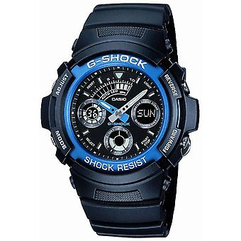 Casio G-Shock Kombination Watch mit 5 Tagesalarme (Modell-Nr. AW-591-2AER)