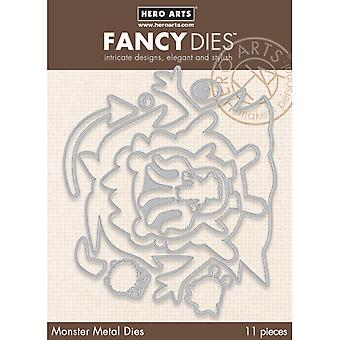 Hero Arts Fancy Dies-nesten Monsters DI384