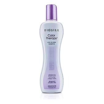 Biosilk Color Therapy Cool Blonde Shampoo - 207ml/7oz
