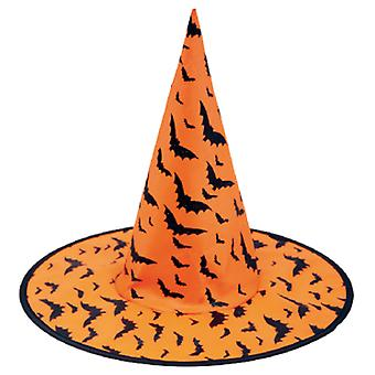 My Other Me Witch Hat Orange Murcielagos (Costumes)